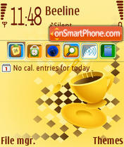 Скриншот темы Coffee 03
