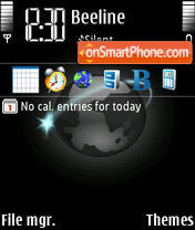 An Network theme screenshot