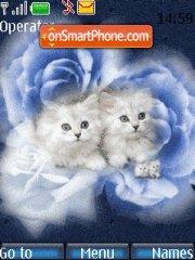 White Cats theme screenshot