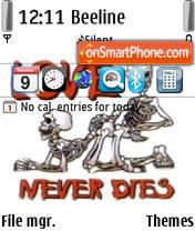 Love Never Dies 01 tema screenshot