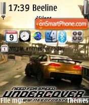 Nfs Undercover 02 theme screenshot