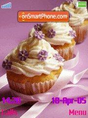 Cream Muffins tema screenshot