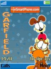 Garfield 26 theme screenshot