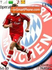 FC Bayern Munich theme screenshot