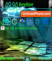 Vista Shine tema screenshot