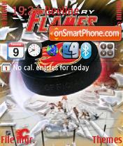 Calgary Flames 01 theme screenshot