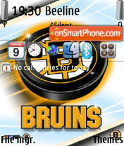 Boston Bruins theme screenshot