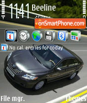 Toyota 01 theme screenshot