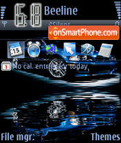An BMW theme screenshot