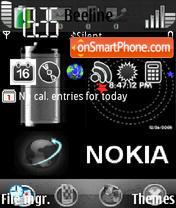 Скриншот темы Animated Nokia