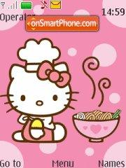 Hello Kitty at Kitchen Theme-Screenshot
