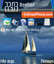 Sea 05 theme screenshot