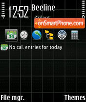 Screen 01 theme screenshot
