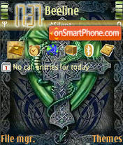 Celtic Dragon theme screenshot