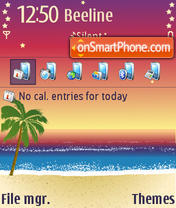 Beach 27 theme screenshot