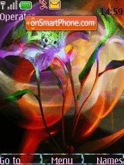 Flowers Color es el tema de pantalla