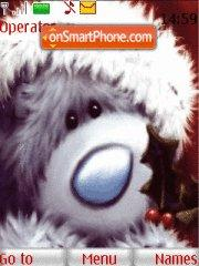 Christmas Teddy tema screenshot