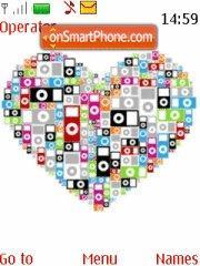 I-Pod Hearts es el tema de pantalla