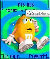 M&Ms2 theme screenshot