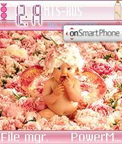 Baby theme screenshot