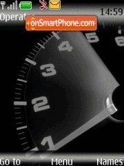 Speedometr tema screenshot