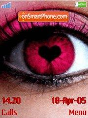 Love Eyes es el tema de pantalla