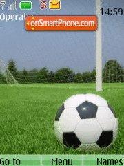 Soccer theme screenshot