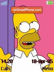 Скриншот темы Homer