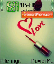 Love Gloss theme screenshot