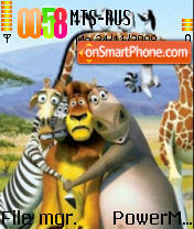 Madagascar 2 02 theme screenshot