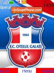FC Otelul Galati theme screenshot