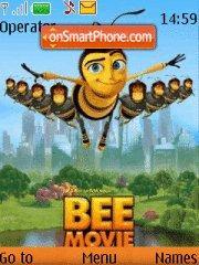 Скриншот темы Bee Movie
