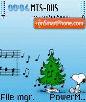 Xmaz Snoopy theme screenshot