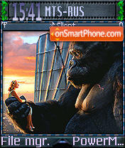 King Kong 03 theme screenshot