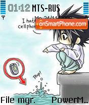 Скриншот темы Hate Cellphones