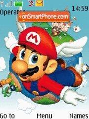 Mario 01 theme screenshot