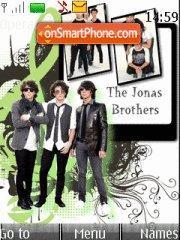 Jonas Brothers 02 theme screenshot