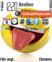 Smiley 09 tema screenshot