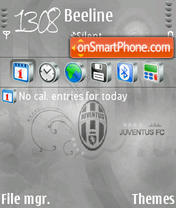 Juventus 03 theme screenshot