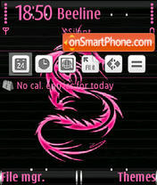 Dragon Vibre Theme-Screenshot