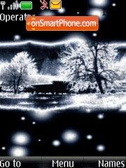 Скриншот темы Winter Night