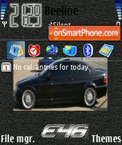 BMW E46 es el tema de pantalla
