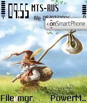 Gnome theme screenshot