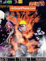 Naruto Shinobi tema screenshot