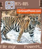 Tiger Bandhavgarh theme screenshot