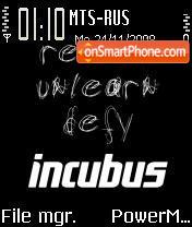 Incubus 01 es el tema de pantalla