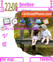 Love 23 theme screenshot