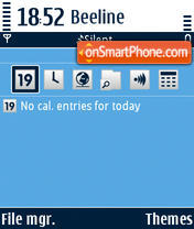 Easy Giambi tema screenshot