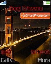 Golden Gate Bridge es el tema de pantalla