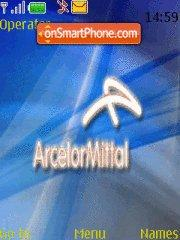 Arcelor Mittal theme screenshot